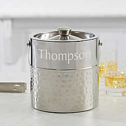 Hampton Collection Personalized Ice Bucket
