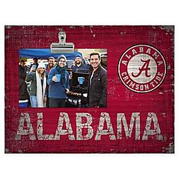 University of Alabama Crimson Tide 10-Inch x 8-Inch Clip-It Photo Frame