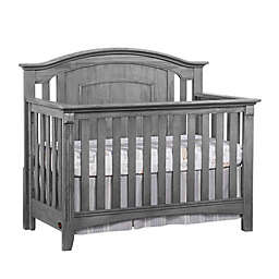 Oxford Baby Willowbrook 4-in-1 Convertible Crib in Grey