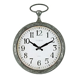 La Crosse Technology 9-Inch Pocket Watch Clock