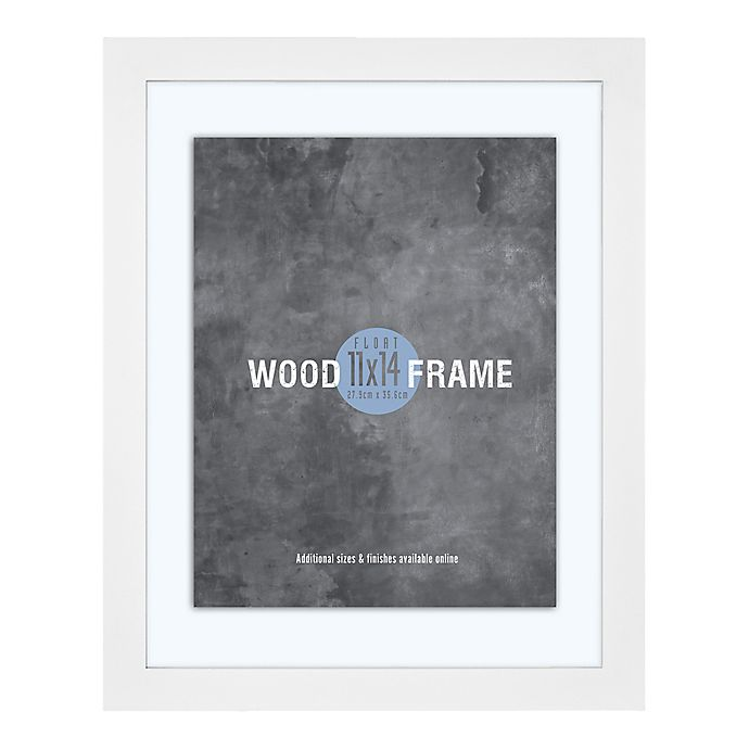 Alternate image 1 for MCS 11-Inch x 14-Inch Gallery Wood Float Frame