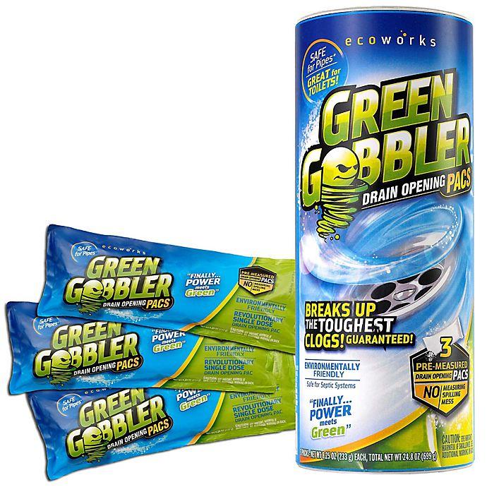 Alternate image 1 for Green Gobbler® Drain Opening 3-Pack