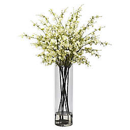 Nearly Natural 38-Inch Cherry Blossom Arrangement in Vase