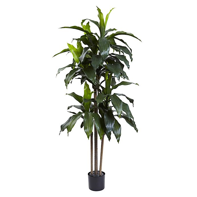 Alternate image 1 for Nearly Natural 5-Foot Artificial UV-Resistant Dracaena Tree in Planter