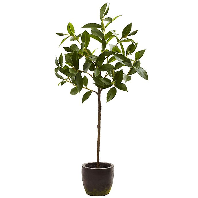 Alternate image 1 for Nearly Natural 29-Inch Artificial Topiary Plant with Decorative Planter