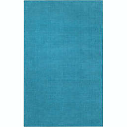 Surya Mystique Solid 7'6' x 9'6 Area Rug in Blue