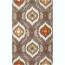 Surya Mamba 8' x 11' Tufted Area Rug in Brown