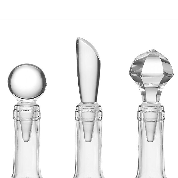 Alternate image 1 for Lenox® Tuscany Classics® Wine Bottle Stoppers (Set of 3)