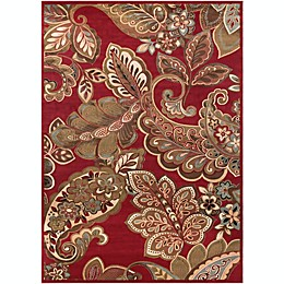 Surya Riley Area Rug in Red/Brown