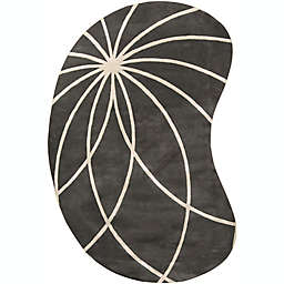 Surya Forum Modern Kidney-Shaped Area Rug