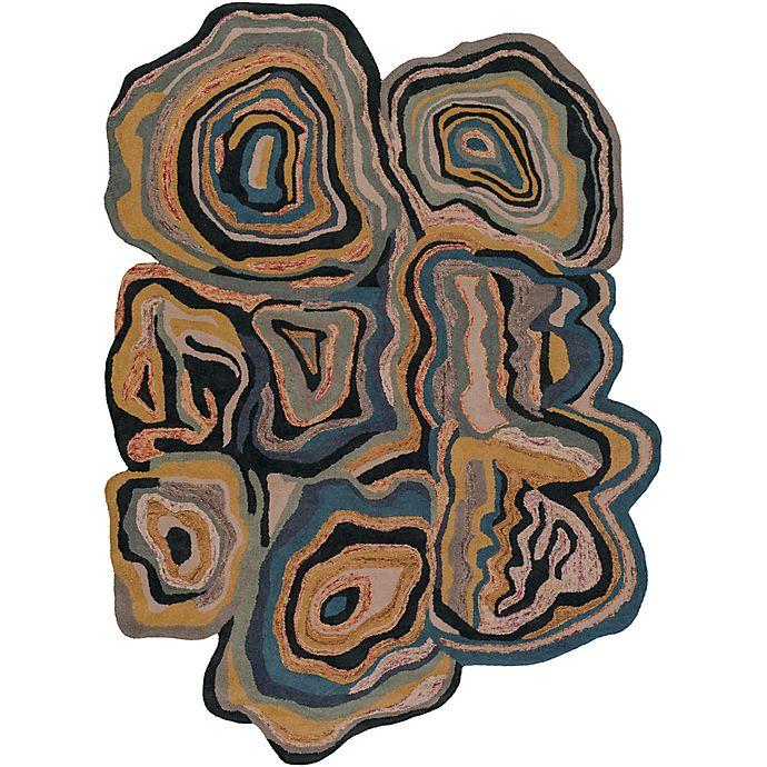 Alternate image 1 for Surya Gypsy 8' x 10' Area Rug in Black/Blue
