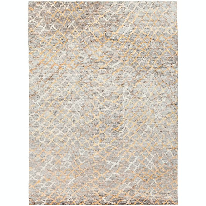 Alternate image 1 for Surya Platinum 8' x 11' Hand Knotted Area Rug in Grey