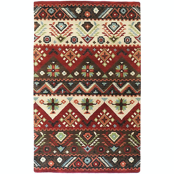 Alternate image 1 for Surya Dream Southwest 2' x 3' Handcrafted Accent Rug in Red/Brown