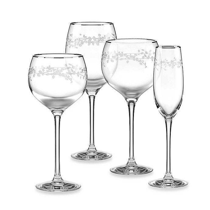 Kate Spade New York Gardner Street Wine Glass Collection