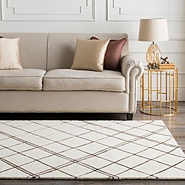 Surya Studio Geometric Rug in Neutral/Brown