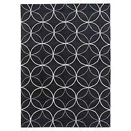 Surya Cosmopolitan Modern 8' x 11' Area Rug in Black