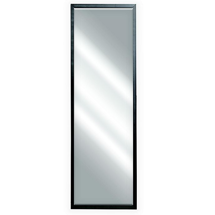 Alternate image 1 for 18-Inch x 54-Inch Leaner Floor Mirror in Antique Silver