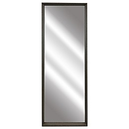 54-Inch x 18-Inch Rectangular Leaner Mirror in Brown