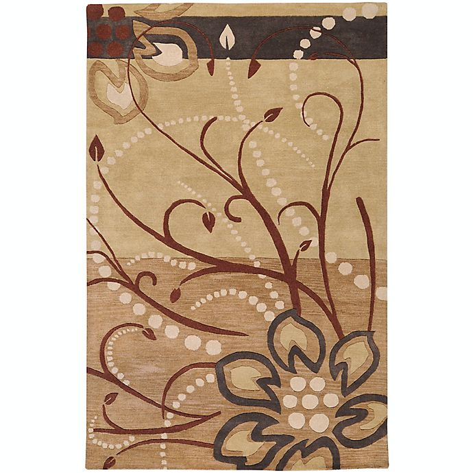 Alternate image 1 for Surya Athena Floral Abstract 10' x 14' Area Rug in Brown/Neutral