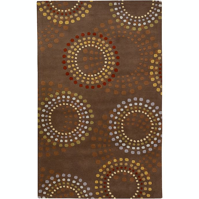 Alternate image 1 for Surya Forum Bloom 6' x 9' Area Rug in Brown/Red