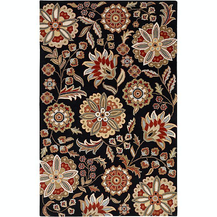 Alternate image 1 for Surya Athena Floral Botanical Hand Tufted Rug