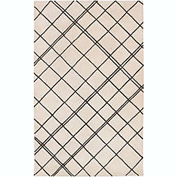 Surya Studio Geometric 9' x 13' Handcrafted Area Rug in Neutral/Brown