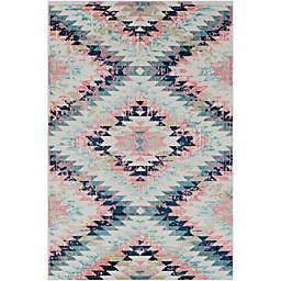Surya Anika Bohemian 6'7 x 9' Multicolor Area Rug