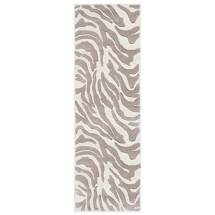 Surya B Smith Animal Print Rectangular Wool Rugs Bed Bath