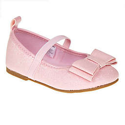 Stepping Stones Size 3 Textured Caviar Mary Jane Dress Shoe in Pink