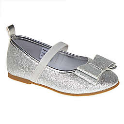 Stepping Stones Size 3 Textured Caviar Mary Jane Dress Shoe in Grey