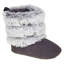 Stepping Stones Size 3-6M Ombre Faux Fur Boot in Grey