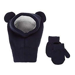 Koala Baby 2-Piece Balaclava Hat and Mittens Set in Navy