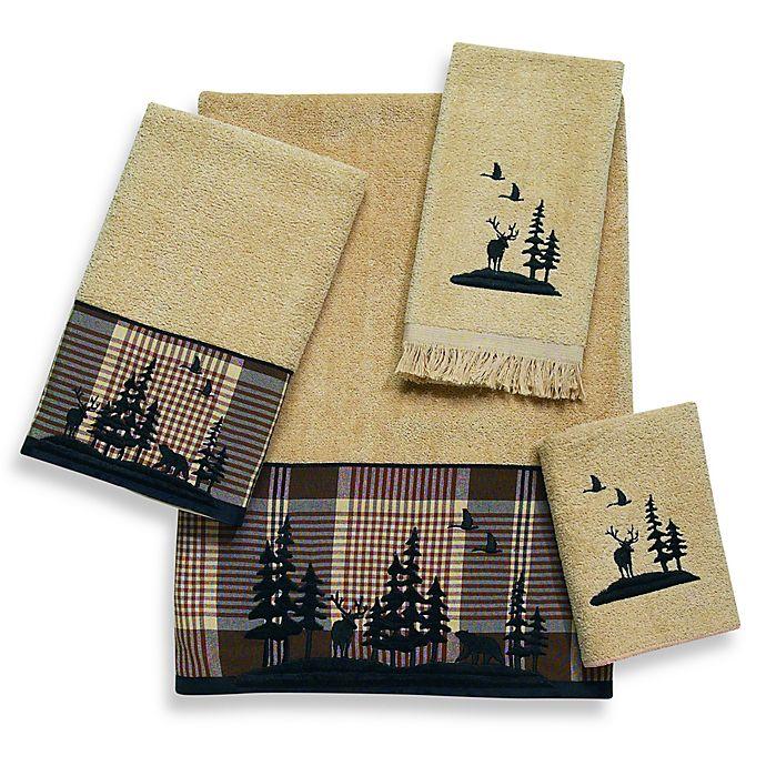 Alternate image 1 for Avanti Woodlands Bath Towel in Rattan
