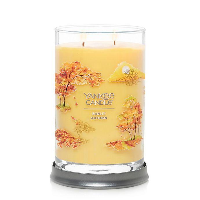 Alternate image 1 for Yankee Candle® Sunlit Autumn Large Tumbler Candle