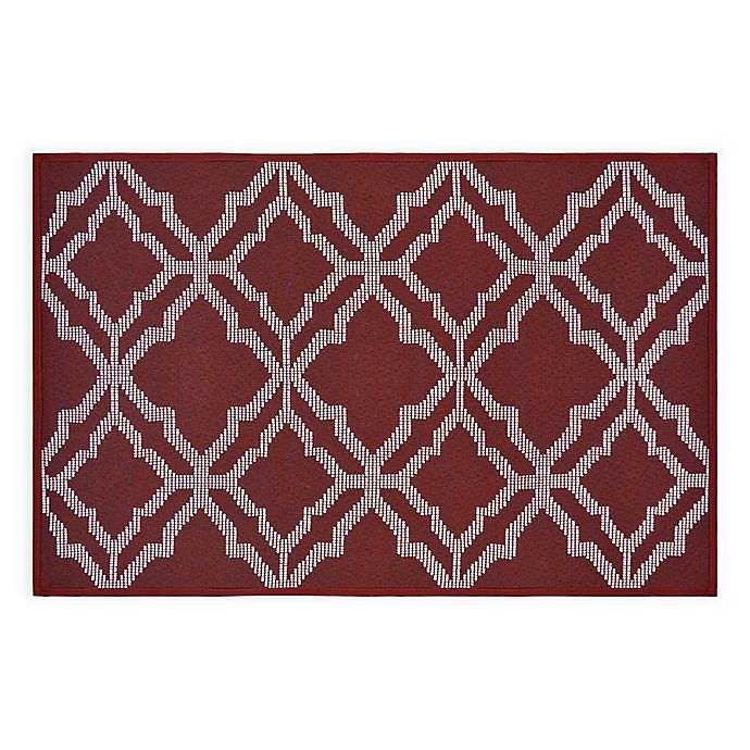Alternate image 1 for Norfolk 2'6 x 4' Accent Rug in Red