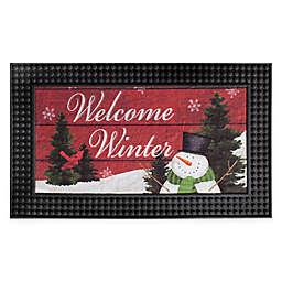 Welcome Winter 18 X 30 Multicolor Led Door Mat