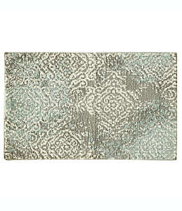 Tapete decorativo Bacova Cashlon 50.8 x 81.28 cm en verde spa