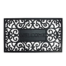 Northlight Scrollwork Welcome 17.75\