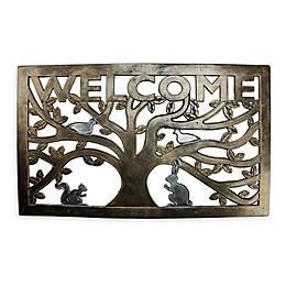 Northlight® Welcome 30-Inch x 18-Inch All-Weather Door Mat
