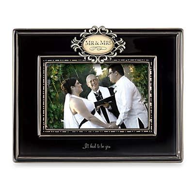 Mr. and Mrs. Ceramic Frame