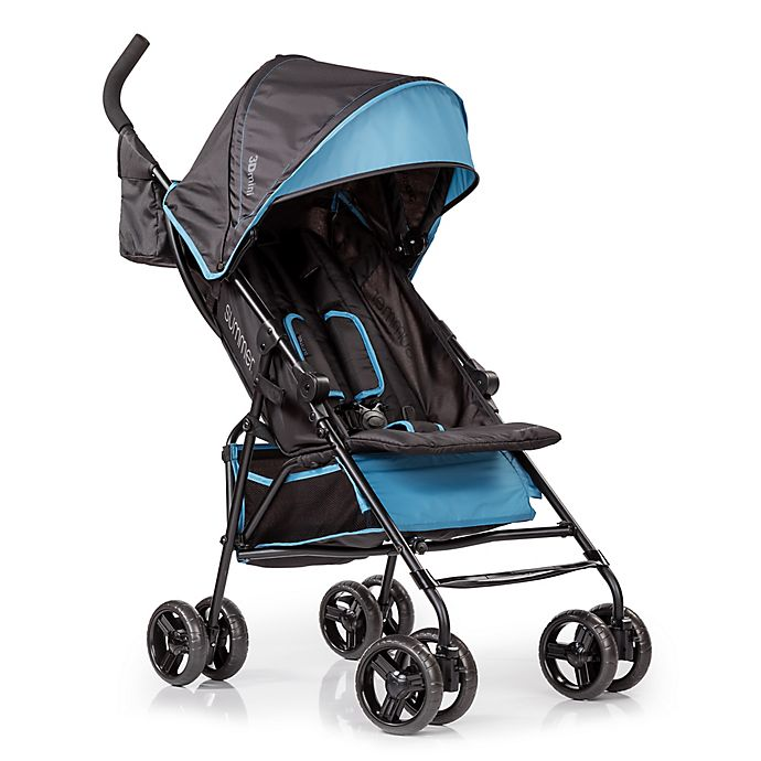 Alternate image 1 for Summer Infant® 3Dmini™ Convenience Stroller in Black/Blue