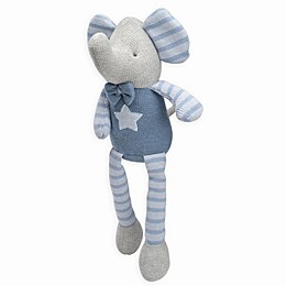 Elegant Baby® Elephant Knit Plush Toy