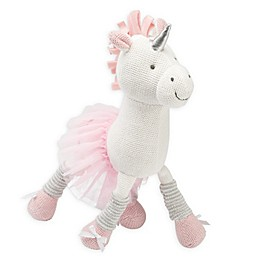 Elegant Baby® Unicorn Knit Plush Toy