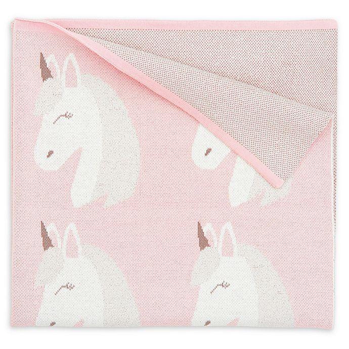 Alternate image 1 for Elegant Baby® Luna the Unicorn Blanket