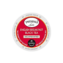 Keurig® K-Cup® Pack 18-Count Twinings of London® Decaffeinated English Breakfast Tea