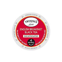 Twinings of London® Decaffeinated English Breakfast Tea Keurig® K-Cup® Pods 18-Count