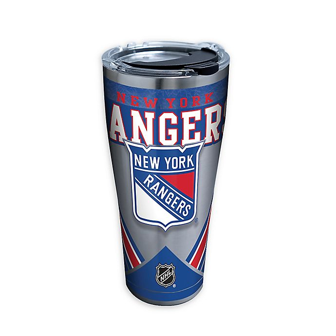 Alternate image 1 for Tervis® NHL New York Rangers 30 oz. Stainless Steel Tumbler with Lid