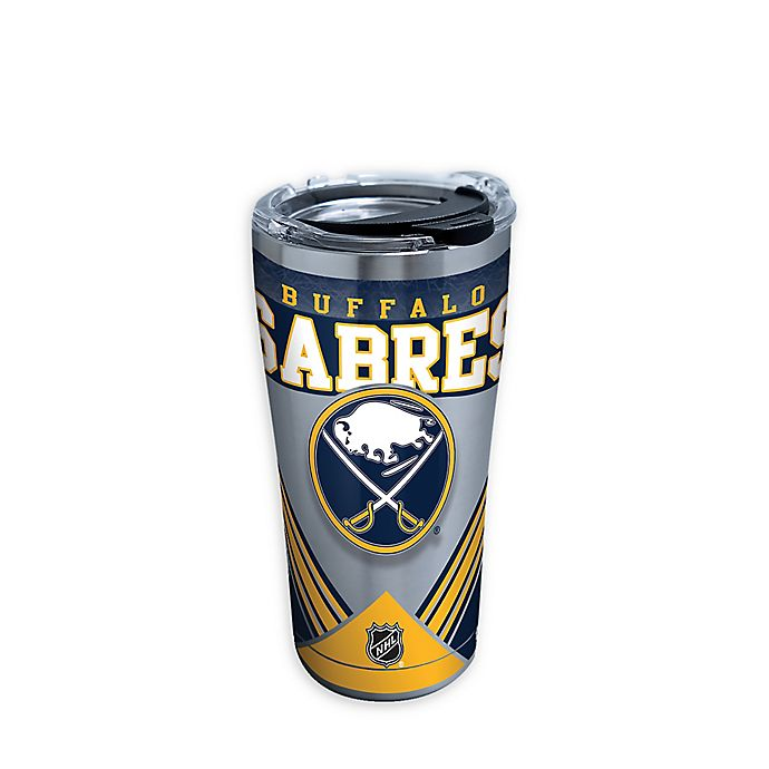 Alternate image 1 for Tervis® NHL Buffalo Sabres 20 oz. Stainless Steel Tumbler with Lid