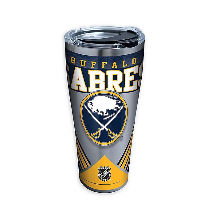 Alternate image 1 for Tervis® NHL Buffalo Sabres 30 oz. Stainless Steel Tumbler with Lid