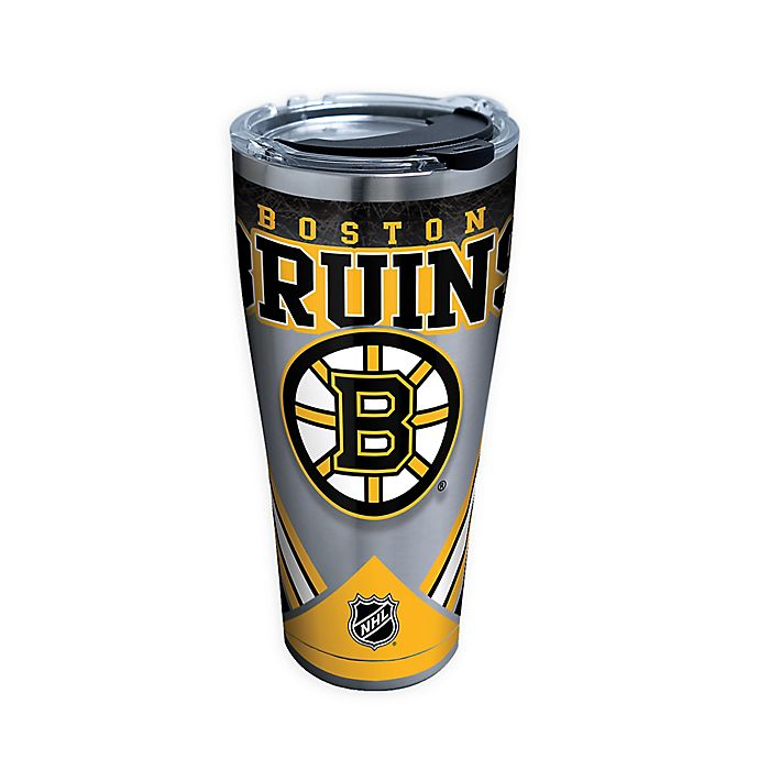 Alternate image 1 for Tervis® NHL Boston Bruins 30 oz. Stainless Steel Tumbler with Lid